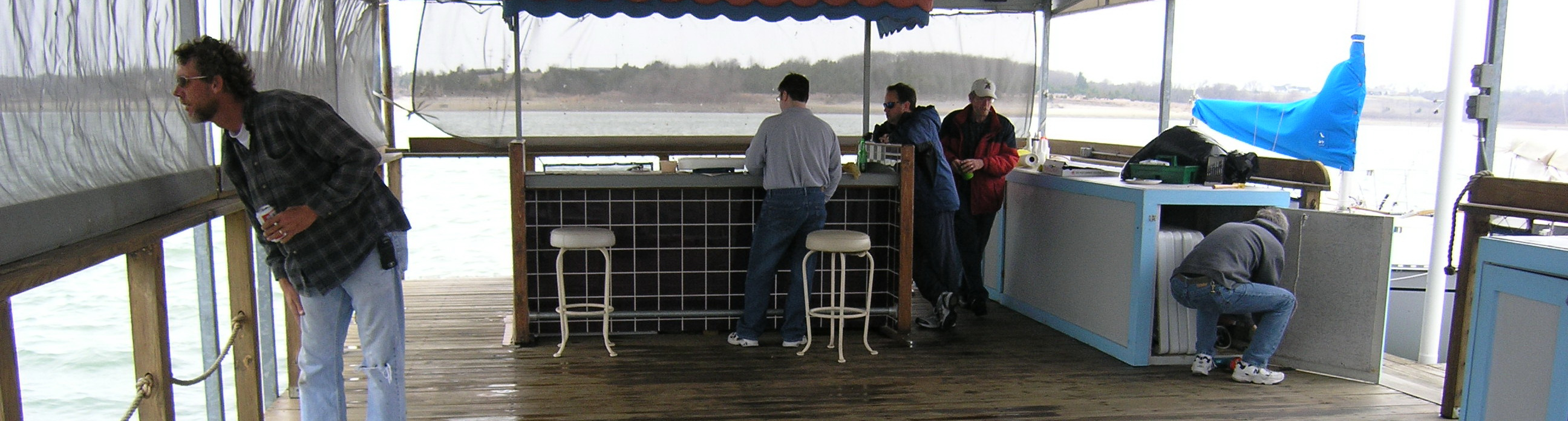 Dock Clean Up March 14th — New season